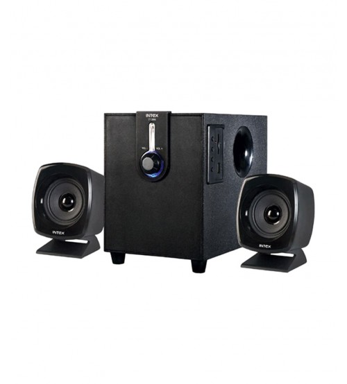 Intex IT-1666 OS 2.1 Multimedia Speaker, Black